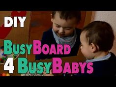 4 DIY Activity Boards for babys and toddlers | mamiblock - YouTube