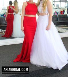 Wedding Dress at Aria Bridal in Escondido, California.