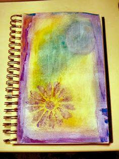 Full Circle...: Resurrecting my Art Journal...