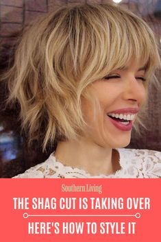 There's a New Shag Cut Taking Over—And Here Are Amazing Ways to Style It New Hair Cut new haircut vine Modern Shag Haircut, Short Shaggy Haircuts, Short Shag Hairstyles, Haircuts For Fine Hair, New Haircuts, Shag Bob Haircut, Thick Hair Hairstyles, Short Shaggy Bob, Beach Hairstyles