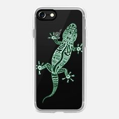 Casetify iPhone 7 Case and Other iPhone Covers - Ornate Lizard by Barruf | #Casetify