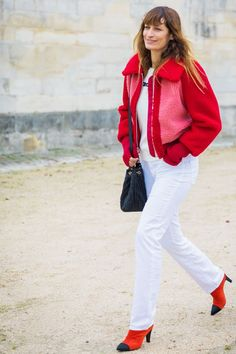Bilderesultat for color block trends red and white