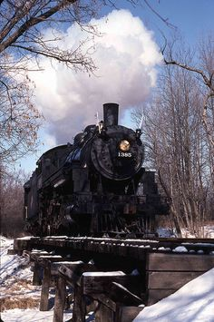 Snow Train C&NW 1385 by Anthony R1, via Flickr