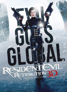 14 de setembro estreia nos cinemas brasileiros o Resident Evil 5 a Retribuição.