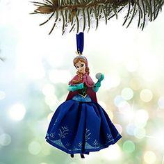 Disney Anna Frozen Sketchbook Ornament