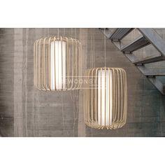 Moolin Suspension hanglamp   Made from Bamboo Lasfera   Gewoonstijl