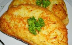 Hot sandwiches with potatoes / Fashion Style Czech Recipes, Ethnic Recipes, Bourbon Drinks, Home Brewing Beer, Irish Whiskey, Scotch Whiskey, Kfc, Bread Recipes, Smoothies