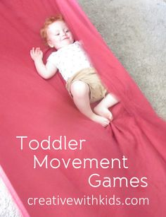 6 Toddler Movement Games