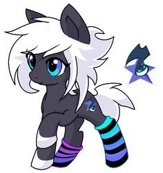 This young pony LOVES vinyl scratch and wants to be just like her