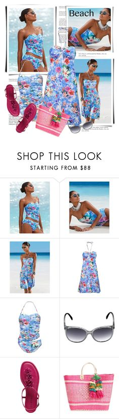"""Beach Day"" by sella103 ❤ liked on Polyvore featuring Mar y Sol and beachday"