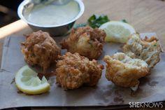 Cajun crab beignet recipe