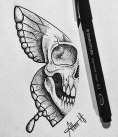 Doodle Tattoo, 1 Tattoo, Body Art Tattoos, New Tattoos, Cool Tattoos, Tatoos, Tattoo Drawings Tumblr, Tattoo Sketches, Unique Tattoos