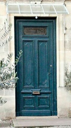 Door Entryway, Painted Doors, Tall Cabinet Storage, Blues, Boho, Painting, Home Decor, Puertas, Decoration Home