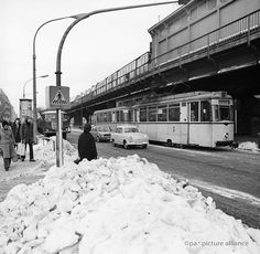 The picture was taken in 1979 at the Schöhnhauser Allee, recognized by the elevated railway and tram line 46th