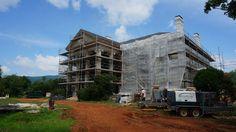 Ongoing restoration of Albermarle County, Virginia estate.