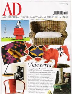Architectural Digest & Felipao AD Art