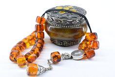 Cognac Amber color Komboloi, Worry Beads, Greek Komboloi, Relaxation, Tesbih, Gift for Men, Stress Relief, Prayer Beads, Anniversary Gift #GreekKomboloi #Tesbih #StressRelief #PrayerBeads #MadeInGreece #Komboloi #GiftForMen #GiftFromGreece #GreekWorryBeads #WorryBeads Amber Beads, Paper Tape, Amber Color, Prayer Beads, Bracelet Sizes, Stress Relief, Gifts For Dad, Anniversary Gifts, Cufflinks