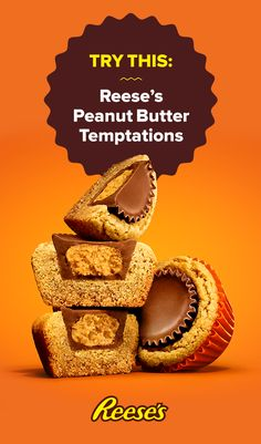 Get out your muffin tin and bake the best peanut butter cookies you've ever tasted. Each one contains a REESE'S peanut butter cup inside.