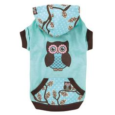 Zack & Zoey Hoot and Howl Dog Pullover — So cute! I need a girl dog!