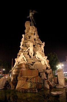 Torino - La fontana del Frejus