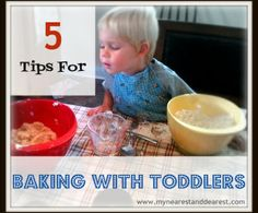 Tips for baking with Toddlers