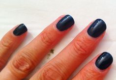 Shellac Midnight Swim - delicious colour, better in the flesh.  Get it at Flashlash £27 (£25 for October) 07710 380409