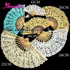 Can print on side. Hand Fans, Wedding Crafts, Diy Accessories, Reception Ideas, Frames, Playing Cards, Rugs, Crochet, Lace