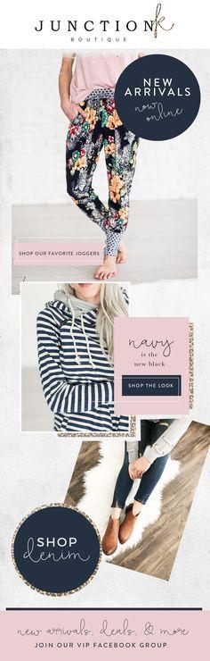 Junction K Boutique Newsletter for Mailchimp | LK Design Studio