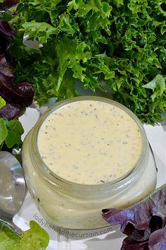 Cook Quinoa With Recipes Homemade Creamy Italian Dressing Recipe, Italian Dressing Recipes, Homemade Dressing, Italian Salad, Salad Dressing Recipes, Italian Recipes, Salad Recipes, Italian Pasta, Salad Dressings