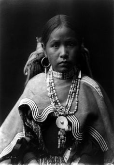 Edward S. Curtis: Jicarilla maiden, New Mexico, ca. 1905 by trialsanderrors, via Flickr