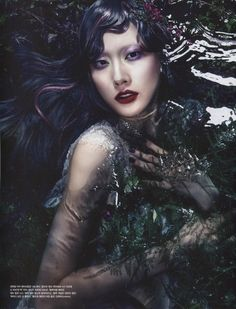 vogue korea 2013 july amore ophelia 2 620x813 Vogue Coréia Julho 2013 | Hyun Yi Lee, Eu Deum Han e Ashley por Hyea Wong Kang [Editorial]