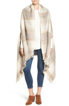 Echo Double Face Plaid Wrap available at #Nordstrom