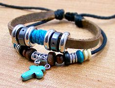 personalized charm bracelets wristbands  for men by edwinating, $6.99