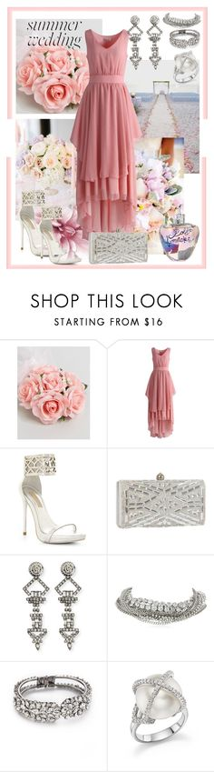 """Wedding Bells are Ringing"" by afinediime ❤ liked on Polyvore featuring ASOS, Chicwish, BCBGMAXAZRIA, J. Furmani, DYLANLEX, ABS by Allen Schwartz, Jenny Packham, TARA Pearls, Lolita Lempicka and summerwedding"