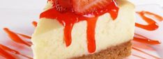 Simple strawberry cheesecake recipe with step-by-step ingridients. It& strawberry cheesecake recipe made easy! Banana Cream Cheesecake, Baked Cheesecake Recipe, Best Cheesecake, Strawberry Cheesecake, Pumpkin Cheesecake, Strawberry Syrup, Strawberry Colada, Simple Cheesecake, Classic Cheesecake
