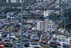 oldie but goodie...damn that traffic jam, lol