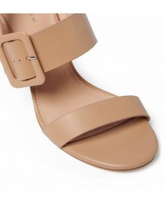 Product features Mid-block heel Faux leather upper Ankle-strap fastening with self-covered buckle Cushioned insole Approximate heel height: Upper/Lining: Polyu Womens Fashion Online, Latest Fashion For Women, Forever New, Block Heels, Ankle Strap, Women's Fashion, Shop, Leather