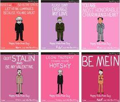 Hilarious dictator Valentines