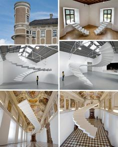 Stairs to Nowhere: 15 Works of Surreal Staircase Sculpture