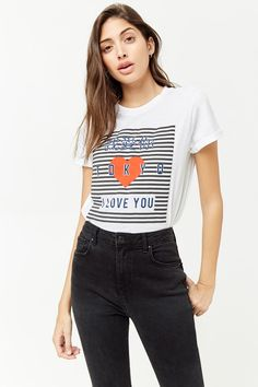 Product Name I Love You Tokyo Graphic Tee f32a436b85a
