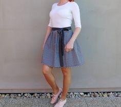 zavinovací sukně*uni velikost / Zboží prodejce An-Ki Art Waist Skirt, High Waisted Skirt, Skirts, Fashion, Moda, High Waist Skirt, Fashion Styles, Skirt