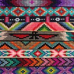 Custom Beaded Friendship Bracelet You door UnderThoseNeonLights Friendship Bracelets With Beads, Bead Loom Bracelets, Beaded Wrap Bracelets, Beaded Bracelet Patterns, Bracelet Crafts, Handmade Bracelets, Beading Patterns, Seed Bead Jewelry, Beaded Jewelry