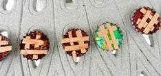 Painted Kiwis: Pie Pins/ Girl Scout Swaps
