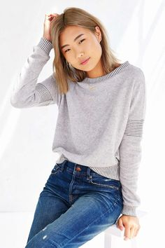Silence + Noise Sylvie Sweatshirt - Urban Outfitters
