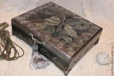 Купить Шкатулка для украшений Океан Подарок женщине - морская волна, шкатулка, шкатулка декупаж