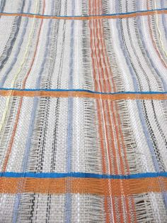Kirsty Slater woven textiles