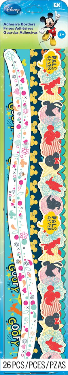 Disney® Mickey Family Adhesive Borders