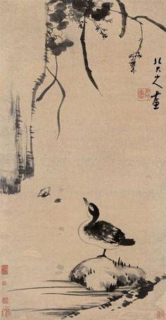 八大山人 ,朱耷 Chinese painting