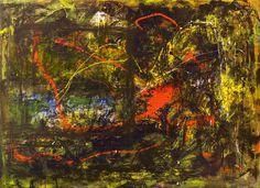 Verandering, schilderij van Christian van Hedel | Abstract | Modern | Kunst
