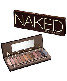 Urban Decay Naked Palette Ahhh I've wanted this for so long there is now a 2 and 3 version. Cannot bring myself to spend that much.